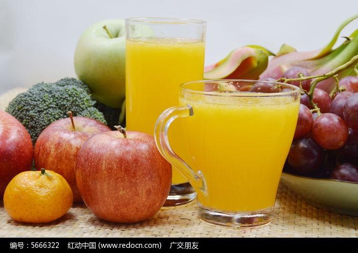 果汁和水果图片图片