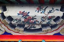 龙王庙内喜上眉梢传统图案边框