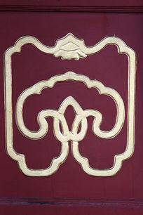 颐和园古代传统回形线条边框