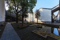 绩溪县博物馆庭院环境