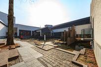 绩溪县博物馆庭院全景