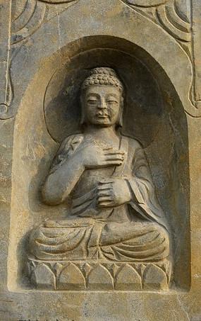 佛像石头雕刻艺术