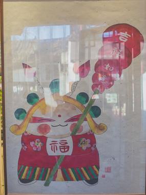 民間傳統裝飾畫
