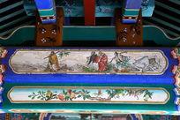 古代八仙过海图案线条边框