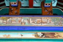 古代制陶窑厂图案线条边框