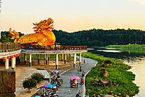 横江湿地公园观景台