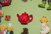 可爱茶壶摆件
