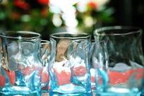 海浪玻璃杯