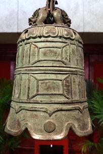 清代广化寺铜钟古钟