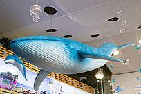 鲨鱼模型装饰物品