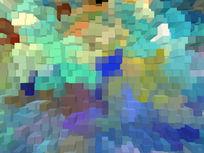 抽象3D背景墙