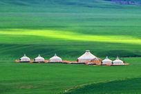 草原蒙古大帐
