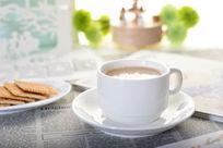 牛奶麦片下午茶