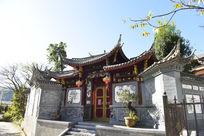 云南建筑风格前门