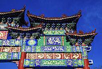 鞍山市博物馆牌楼门东楼