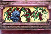 传统立体壁画