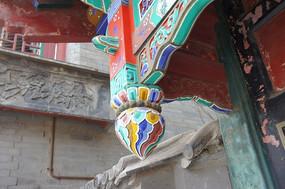 垂花柱雕饰