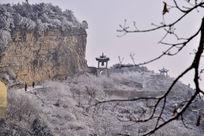 龙口景区的山道