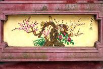 梅花艺术壁画