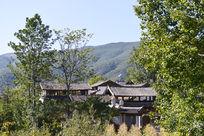 林中古代建筑