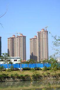 多层地产楼盘建筑