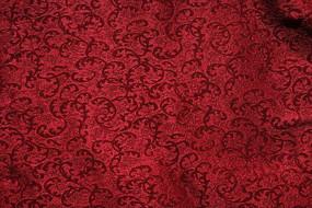 红色布材料