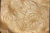 金色花纹布料