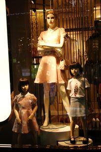 儿童服装模特