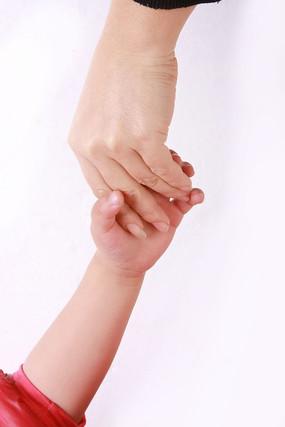 关爱儿童手势