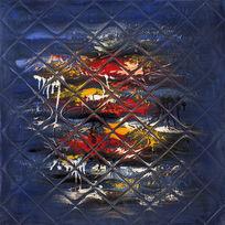 抽象油画高清背景墙