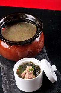 海带排骨绿豆汤