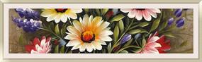 花卉油画酒店画现代装饰画