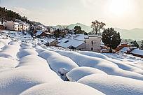 金龙山冬雪风光
