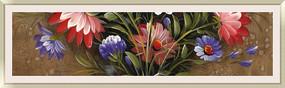 现代装饰花卉油画