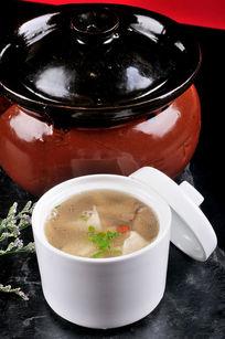 虾燕野菌汤