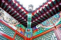 中国传统建筑屋角转角