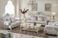 客厅法式家具设计图片