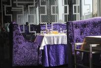 梦幻紫色餐厅