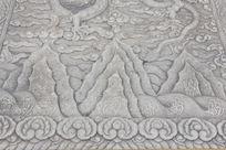 北京故宫龙型山丘图