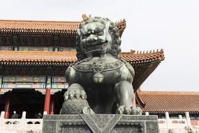 北京故宫狮子