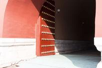 北京故宫天安门城楼大门