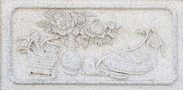 中国结花瓶图案石刻