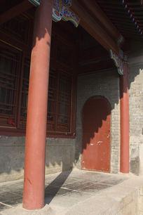 青岛湛山寺的建筑风景