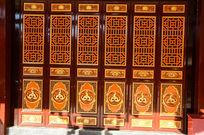 寺庙古典中式门窗