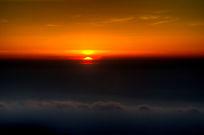 云海上的日出