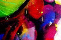 涂鸦艺术色彩