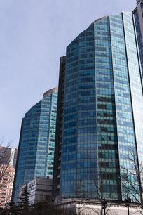 绿色玻璃大厦