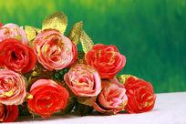 金粉玫瑰花