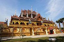曼谷传统寺庙建筑
