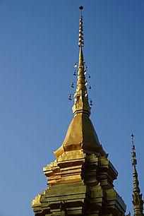 泰国金漆寺庙